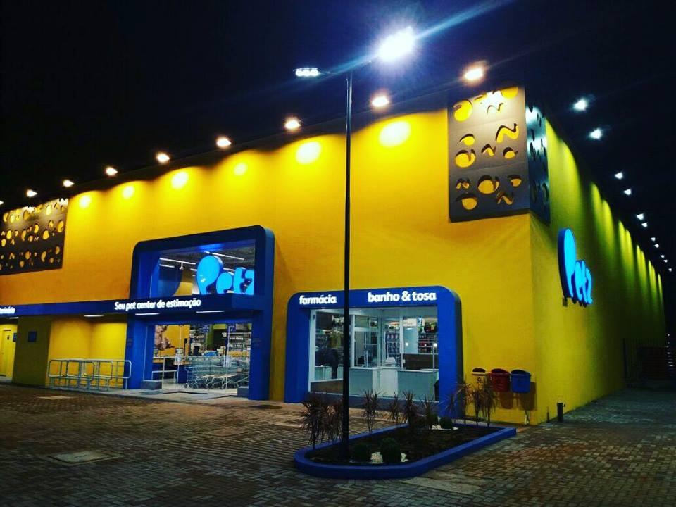 Fachada Petz Londrina