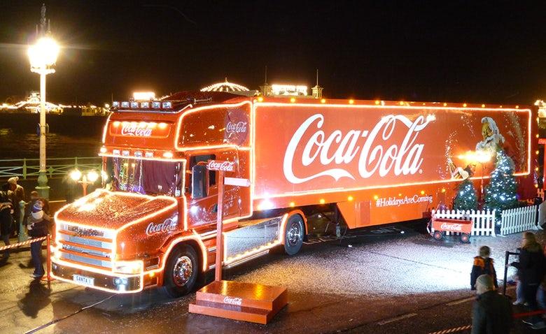 Coca-Cola-van