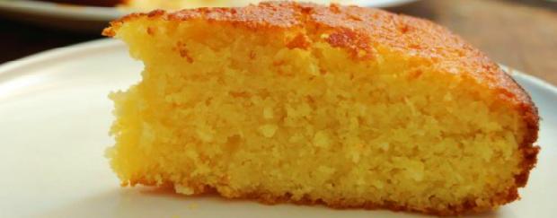 Receita como fazer bolo de laranja de liquidificador