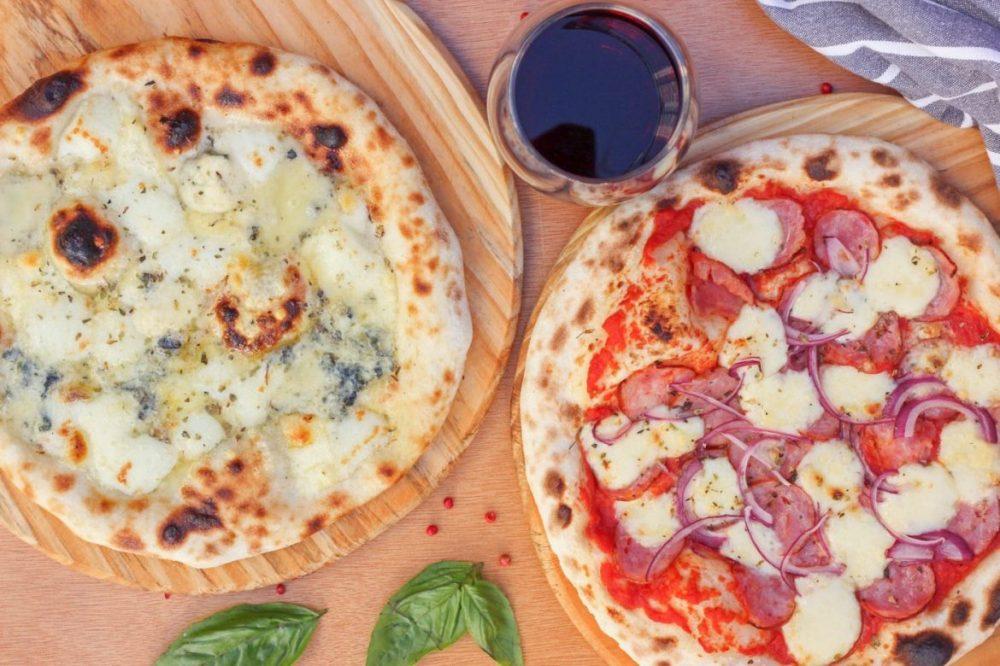 Wine - pizza individual Que Massa